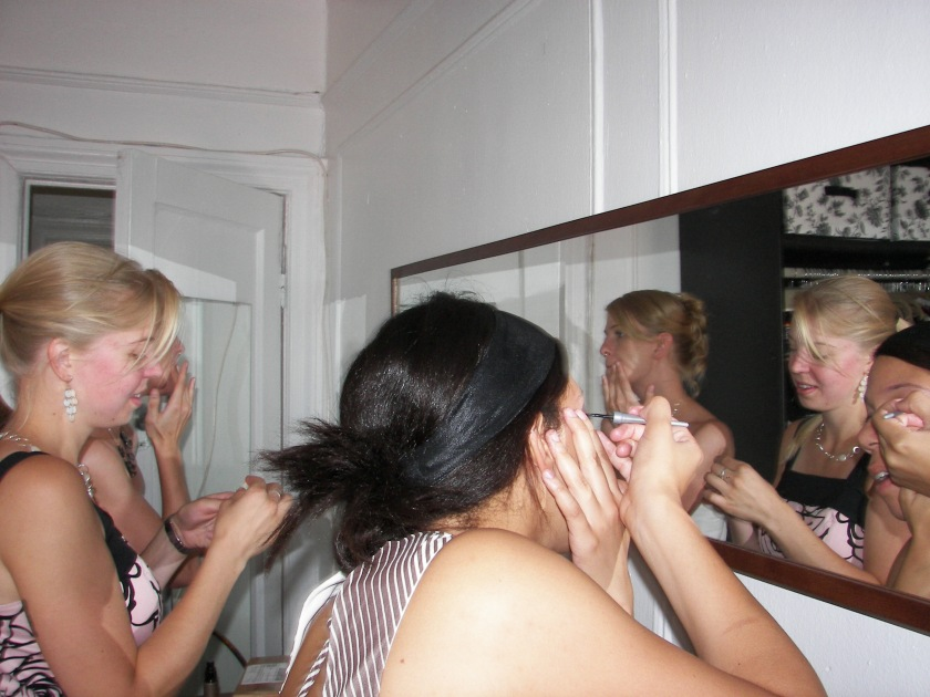 girls in the mirror
