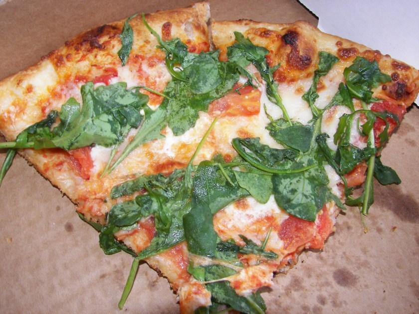 gleaming pizza bits